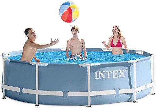 Preisvergleich Produktbild Intex Prism Frame Pool aus der Premium Line, Durchmesser:366cm