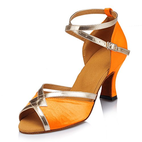 TDA , Bride de cheville femme Orange