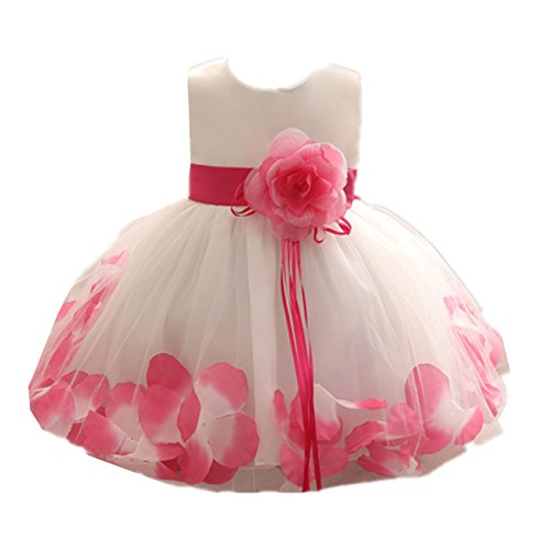Kinder Mädchen Blume Kleid Baby Mädchen Geburtstagsparty Kleider Kinder schicke Prinzessin...
