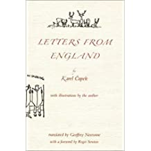 Letters from England by Karel Capek (2002-04-02)