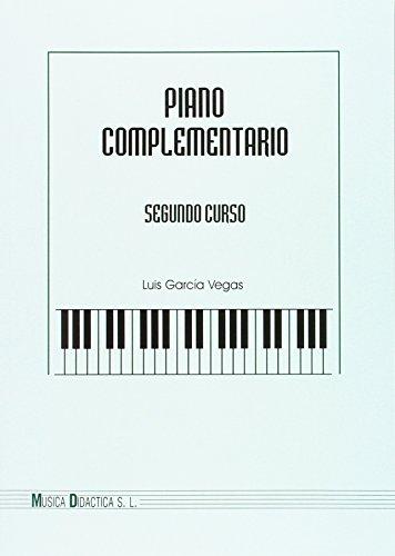 Piano complementario, 2 curso por Luis García Vegas
