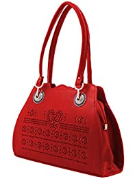 BFC- Buy For Change Fancy Stylish Elegant Red Handbags For Woman And Girls