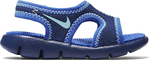 Nike Sunray Adjust 4 (Gs/Ps), Chanclas Niños, Blau Kombi, 3c
