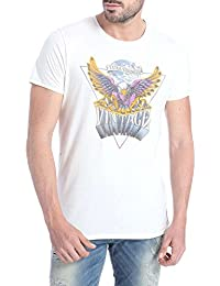 Flat 60% Off On : Jack & Jones Casual Printed T-Shirts For Men's low price image 1