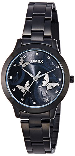 Timex Analog Black Dial Women\'s Watch-TW000T609
