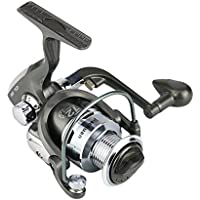 Espeedy Spinning carrete de pesca,12BB Ball Bearing 5.5: 1 Ratio Rubber Handle Fishing Reels Serie CL Metal Spinning Wheel Accessories