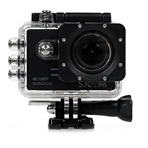 """Original SJCAM SJ5000 WIFI Novatek 96655 14MP 2.0"""" LCD 1080P 170 Degree Wide Angle Sport Action Camera Waterproof Cam DV Camcorder Outdoor for Bicycle Motorcycle Diving Swimming with a Free Mini SmartTmall Wrench (Black)"""