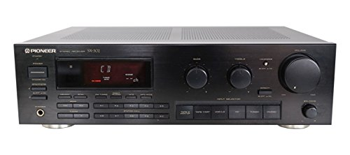 Pioneer SX-302 Stereo Receiver in schwarz