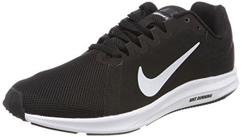 Nike Downshifter 8, Scarpe Running Donna, Nero (Black/White-Anthracite 001), 38 EU