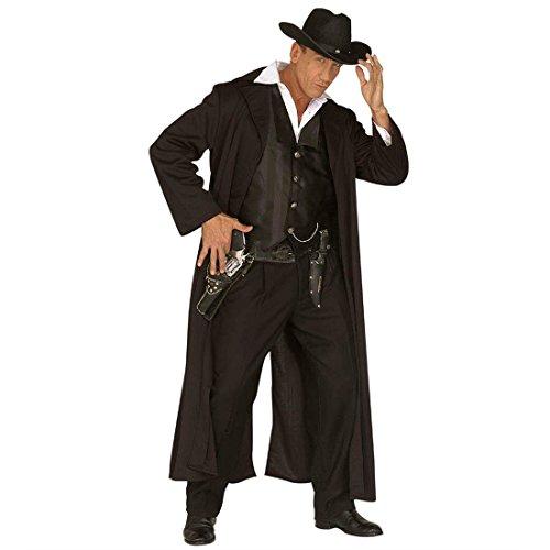 Revolverheld Kostüm Sheriff Westernkostüm Herren 54 Kopfgeldjäger Herrenkostüm Fasching Western Cowboy Faschingskostüm Sheriffkostüm Cowboykostüm Wilder Westen Karnevalskostüm Indianer Mottoparty Verkleidung Karneval Kostüme Männer (Wilder Westen Revolverheld Kostüm)