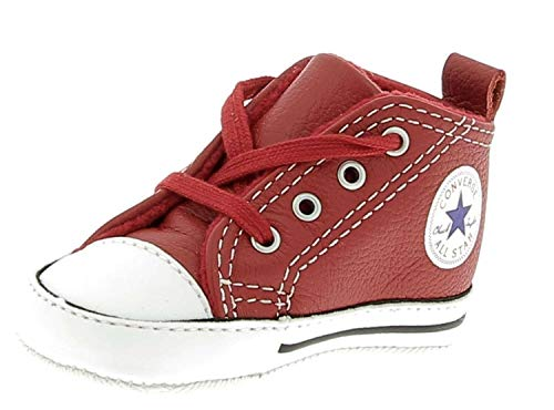 d121e23a793c6 CONVERSE 855120C FIRST STAR RED WHITE SNEAKERS Enfant RED WHITE 18