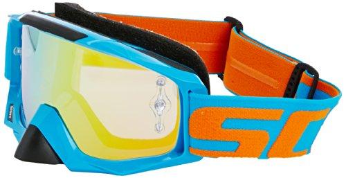 Scott Tyrant Brillen, Electric Blue/Orange Chrome funktioniert