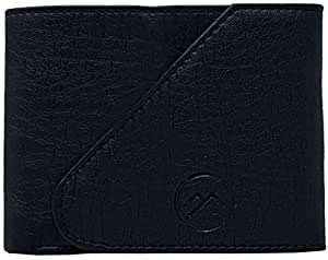 wildmount Black PU Men's Wallet