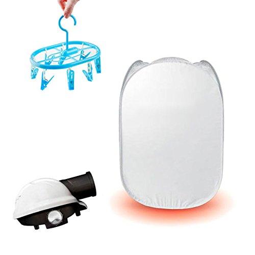 Shop Story–Tendedero secador ropa eléctrico, portátil, ligero y compacto