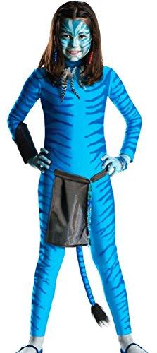 erdbeerloft -Avatar Overall Kostüm- Science Fiction Fantasy Tierkostüm, blau, 9-11 Jahre