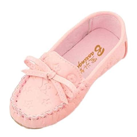 Ouneed® Doux Cuir Chaussures Bateau Fille EU 21 -25 (22,