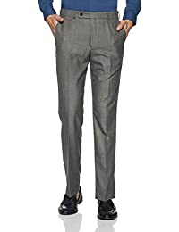 Park Avenue Men's Relaxed Fit Formal Trousers