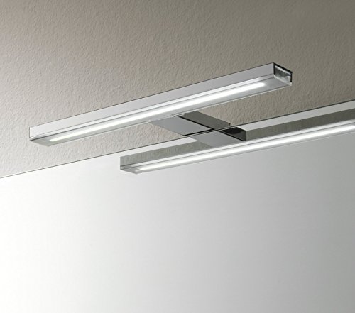 Badlampen für spiegel  Esther S3_Aluminium Spiegelleuchte Badlampe LED IP44 12w 5700°K ...