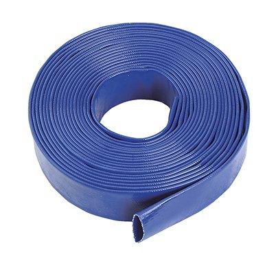 Blue Layflat Water Discharge Hose Pipe Pump Irrigation - 76mm (3