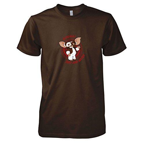 TEXLAB - Mogwai: Just add Water - Herren T-Shirt, Größe M, (Monchichi Kostüm)