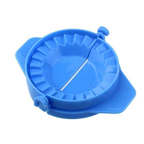 Hirolan Neu Küche Werkzeuge Knödel Jiaozi Hersteller Gerät Einfach DIY Knödel Schimmel Knödel Maker Manuelle Knödelform Teigpresse Tortenform Ravioli form (Blau)