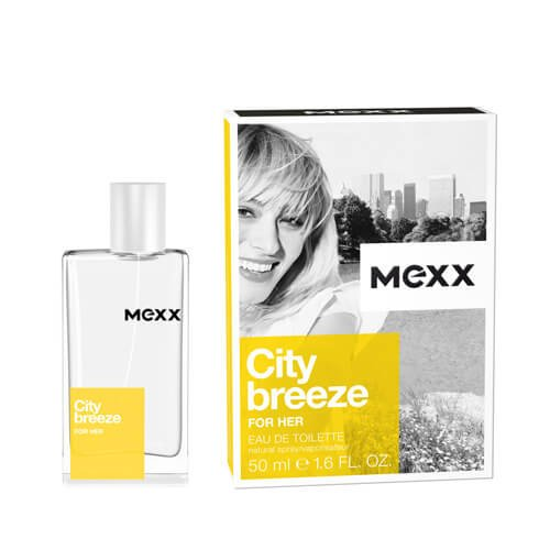 Mexx City Breeze for her EDT 1er Pack (1 x 50 ml)