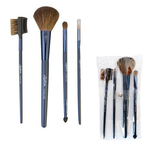Set de 4 pinceaux de maquillage professionnel
