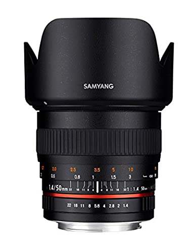 Samyang 50mm F1.4 Objektiv für Anschluss Nikon AE