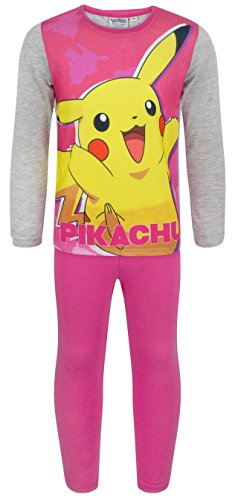 Noisy Sauce Pokemon Pikachu Girl's Pyjamas (7-8 Years)