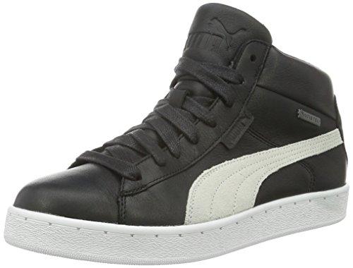 Puma 48 Mid Gtx, Baskets Basses Mixte Adulte Noir - Schwarz (black-vaporous gray-vibrant orange-white-aged silver 01)