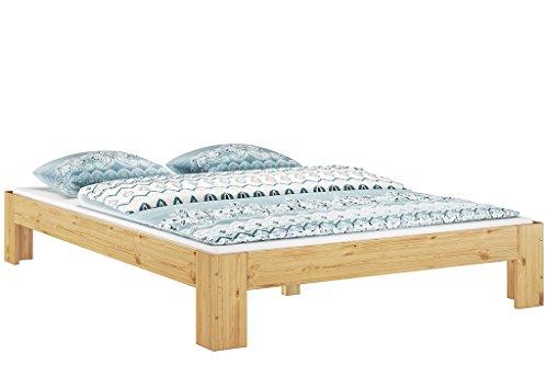 Erst-Holz® 60.67-14 Französisches Bett 140 x 200 cm Kiefer massiv mit Rollrost