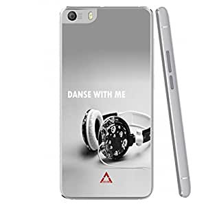 a AND b Designer Printed Mobile Back Case / Back Cover For Micromax Canvas Fire 4 A107 (MIC_A107_3457)