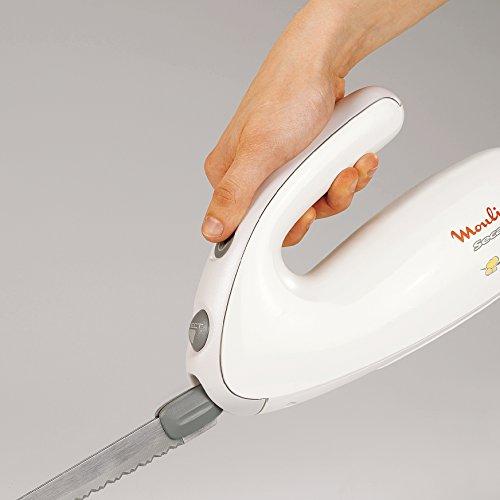 Moulinex Secanto DJAC41 - Cuchillo eléctrico (100 W, con botón de eyección de las cuchillas)