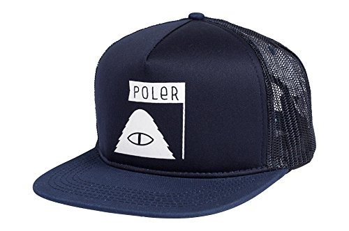 POLER Cap SUMMIT MESH TRUCKER Navy