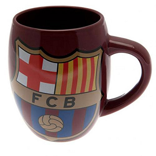 Barcelona FC Blue Red Tea Tub Football Club Crest Fan Gift Boxed Mug Official