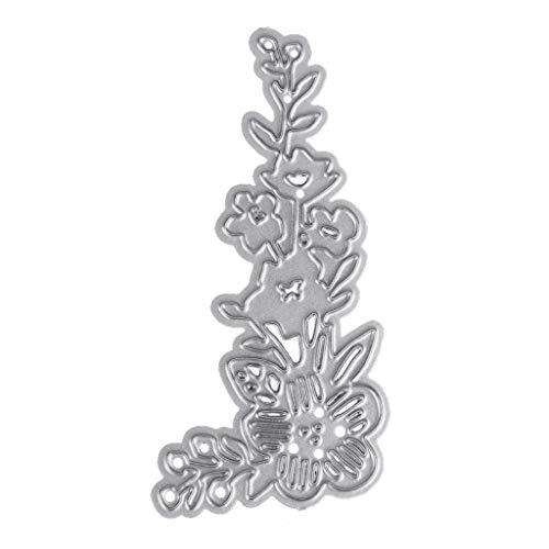 Hottap Schöne Blume Metall Stanzformen Schablone DIY Scrapbooking Präge Papier Karte Dekoration Für Party Einladung