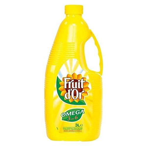 olio di girasole o frutta 3 l - ( Prezzo unitario ) - Fruit d'or huile de tournesol 3