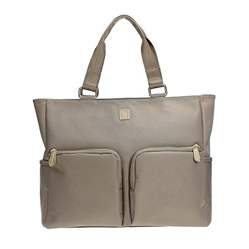 U.S. Polo Assn. BEULN0125WI Shopper Donna Beige