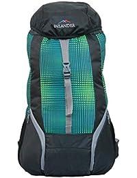 1371854879 INLANDER 1011-1 Green Box Rucksack Daypack Backpack Bag for Travel Hiking  Trekking   Camping