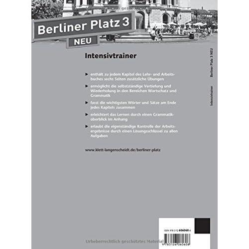 Pdf Berliner Platz 3 Neu Deutsch Im Alltag Intensivtrainer