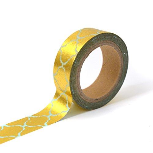 Unbekannt Toga mt111Kreppband Ostfriesland Washi Tape gold/blau 4x 9x 5cm