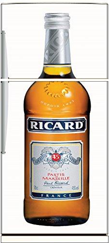 stickersnews-sticker-frigo-deco-cuisine-bouteille-de-ricard-dimensions-60x170cm