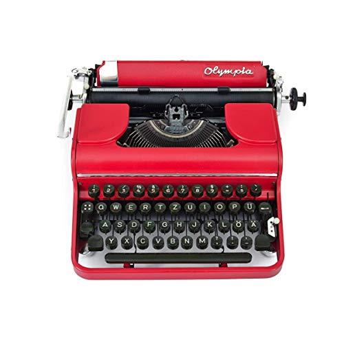 Schreibmaschine vintage | 50s Stil | Rote Shabby Chic Dekoration | Vintage Style