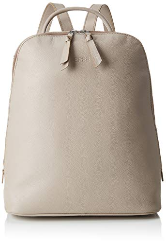 BREE Collection Damen Cary 4, Mushroom, Backpack S19 Rucksack, Gelb, 12.5x32x33 cm
