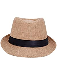Faas Fedora Hat Beige For Boys & Girls Age 4 To 5 yrs.FH09