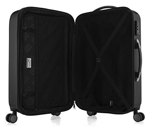 41roV2CBRML - Hauptstadtkoffer Juego de maletas, negro (Negro) - 82780004