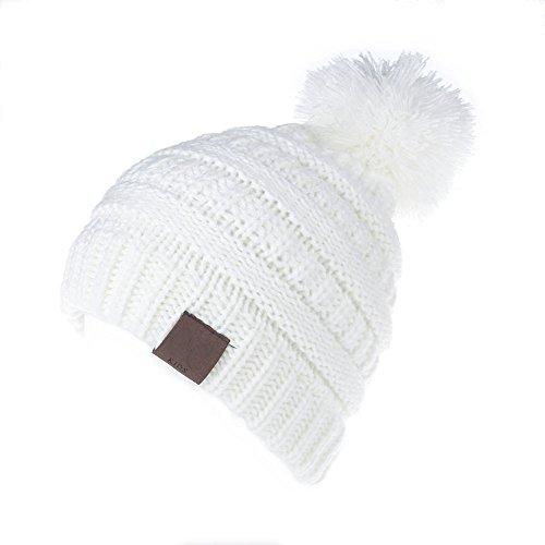 MIOIM Baby Strickmützen Gestrickt Warme Winter Mütze Hut Beanie Kleinkind Kinder Cap Hüte für Mädchen Jungen