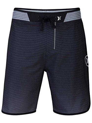 Hurley Board Shorts - Hurley Phantom Block Party Hyperweave Flow Board Shorts - Black Black
