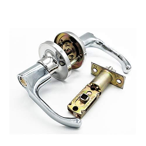 Qrity set di pomelli per porta, set maniglia per porta con serratura a leva, anticata