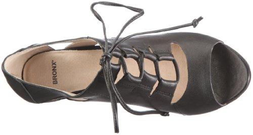 Bronx Coral 37 83724-A4, Sandales mode femme Noir - V.9